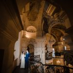 destination weddin photographer berlin prague rome venice Winter wedding in the church of St. Nicholas
